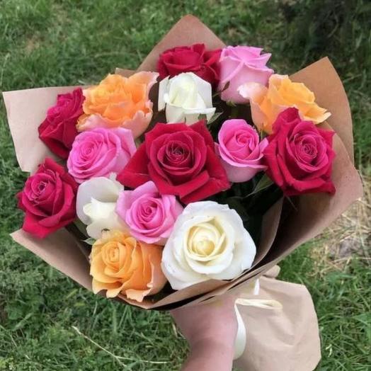 Букет из 15 роз «Кении»