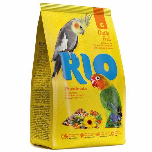 Rio Корм для средних попугаев основной рацион 500 г