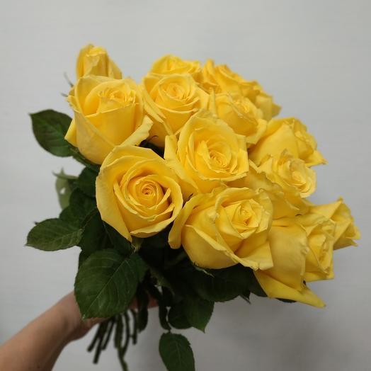 Роза жёлтая Эквадор