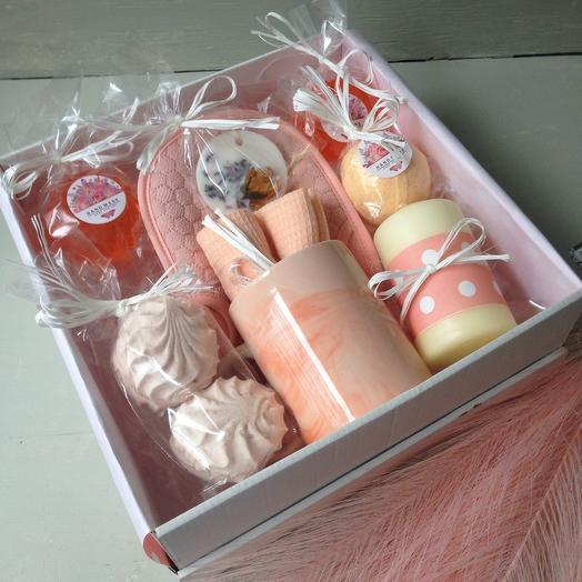 Подарочный набор Персиковый джем