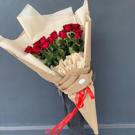 Крафтик с розами