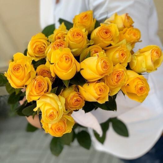 Лимонные Розы