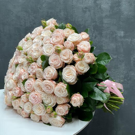 Розы пионовидные кустовые
