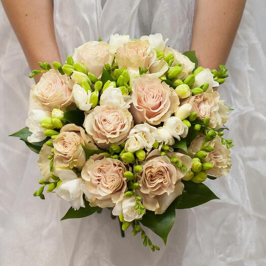 """Букет невесты """"Прикосновение нежности"""""""