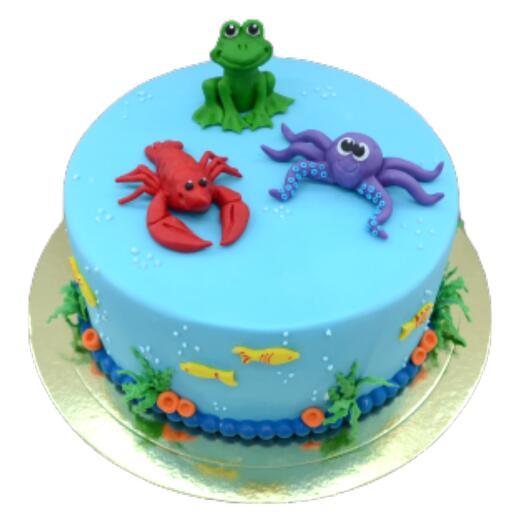 Торт Морской арт.D7339