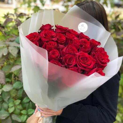 Розы Эквадор 70 см