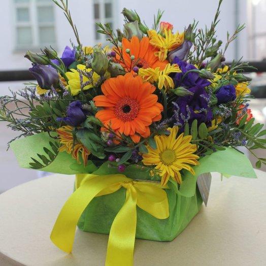 Оранжевые дети: букеты цветов на заказ Flowwow