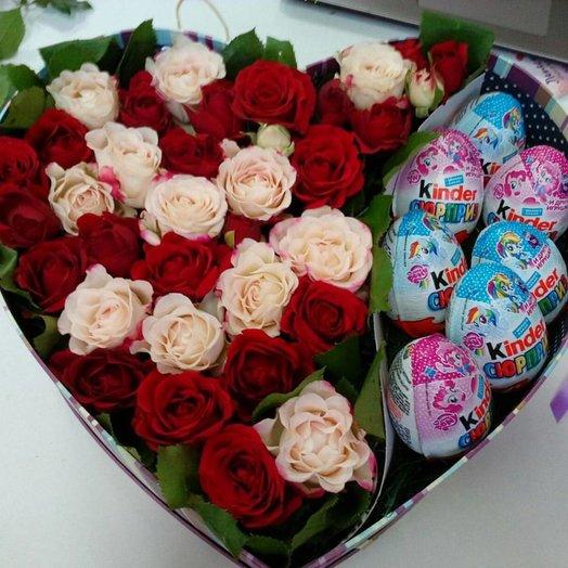 Сладко- красиво: букеты цветов на заказ Flowwow