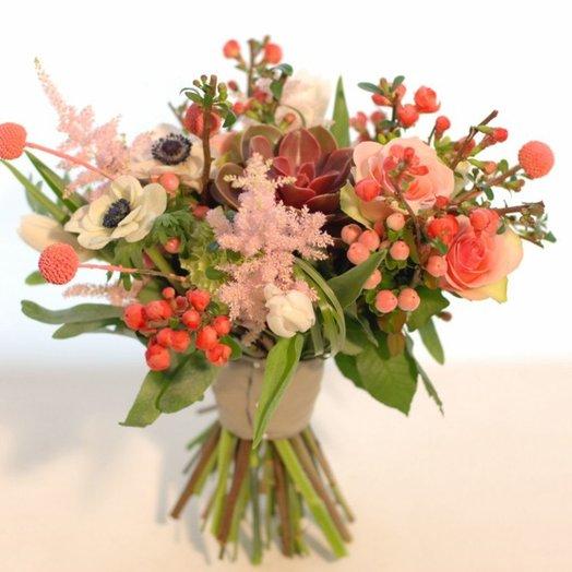 Букет с сакурой: букеты цветов на заказ Flowwow