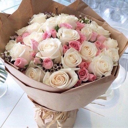 """Букет """"Нежный зефир"""": букеты цветов на заказ Flowwow"""