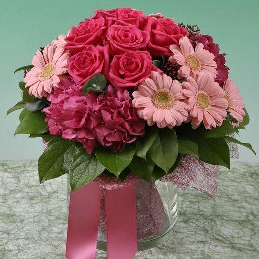 Букет Малиновый щербет: букеты цветов на заказ Flowwow