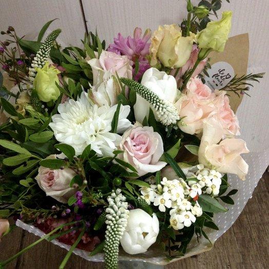 Все оттенки белого: букеты цветов на заказ Flowwow