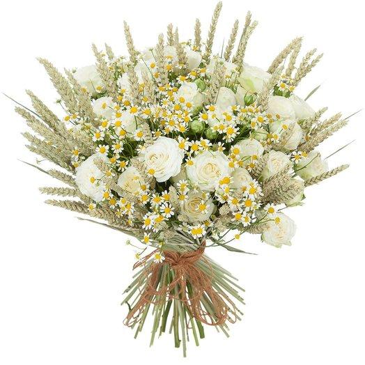 Полевой букет Селянка: букеты цветов на заказ Flowwow