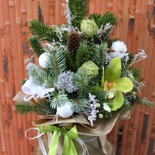 Christmas tree handmade 2: flowers to order Flowwow