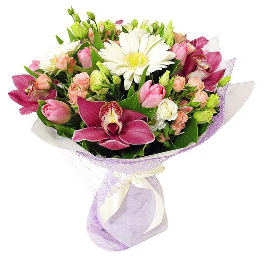 Букет Водевиль: букеты цветов на заказ Flowwow