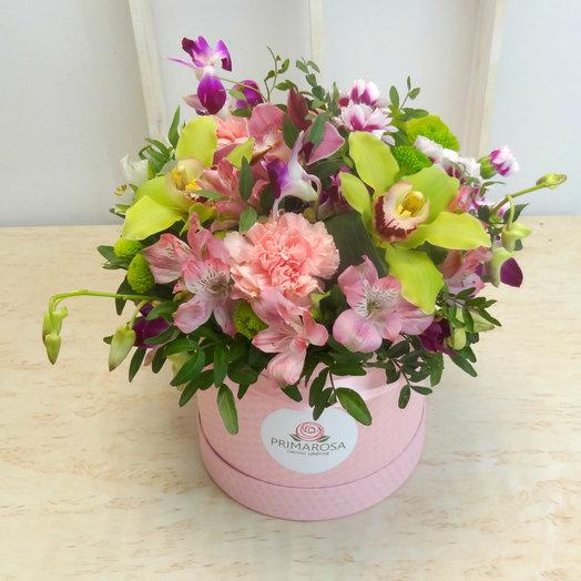 Шляпная коробка 12: букеты цветов на заказ Flowwow