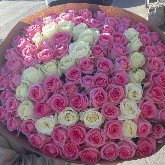 Цифры из роз: букеты цветов на заказ Flowwow