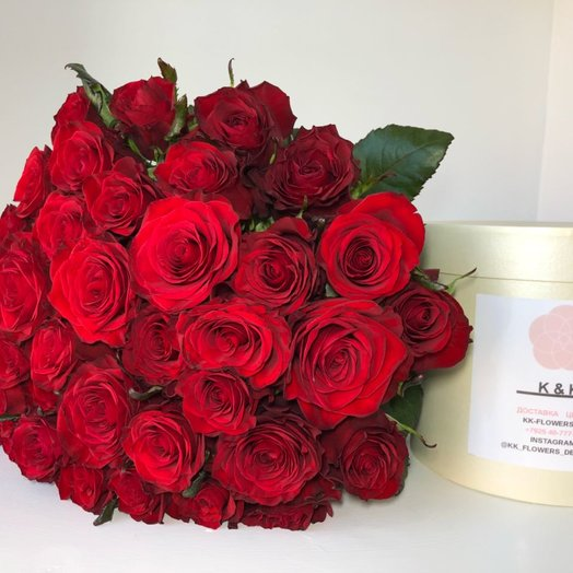 Моно букет из Подмосковных: букеты цветов на заказ Flowwow