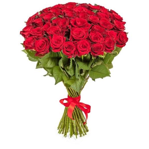 51 Красная роза : букеты цветов на заказ Flowwow