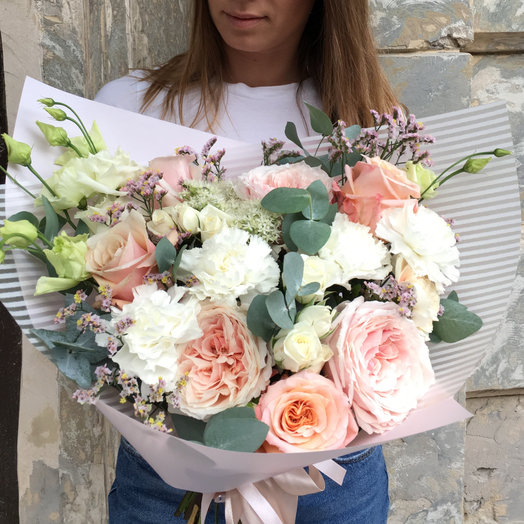 Букет признание джульетты, цветов немига цветы