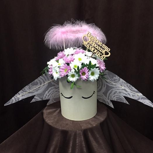 Ангел для Мамы: букеты цветов на заказ Flowwow