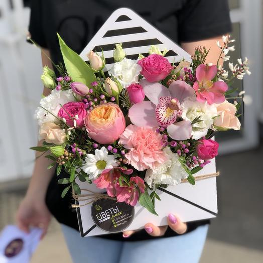 Письмо Летнее: букеты цветов на заказ Flowwow