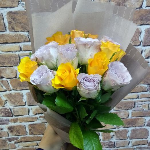 Горький шоколад: букеты цветов на заказ Flowwow
