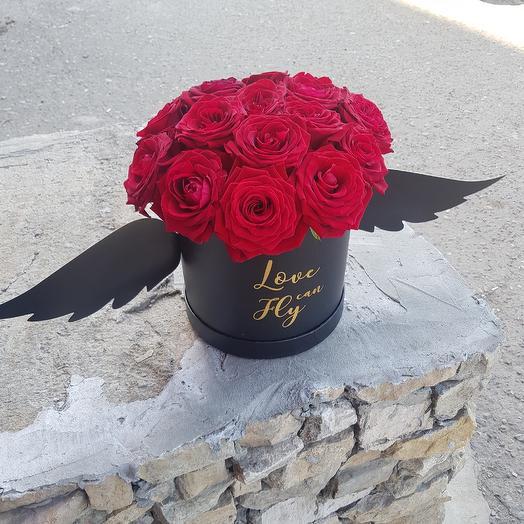 Любовь может летать: букеты цветов на заказ Flowwow