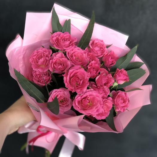 Малиновый букетик: букеты цветов на заказ Flowwow