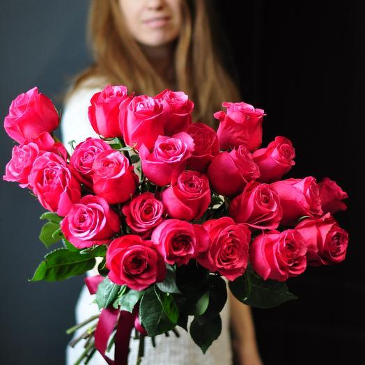 """Роза """"Cherry"""": букеты цветов на заказ Flowwow"""