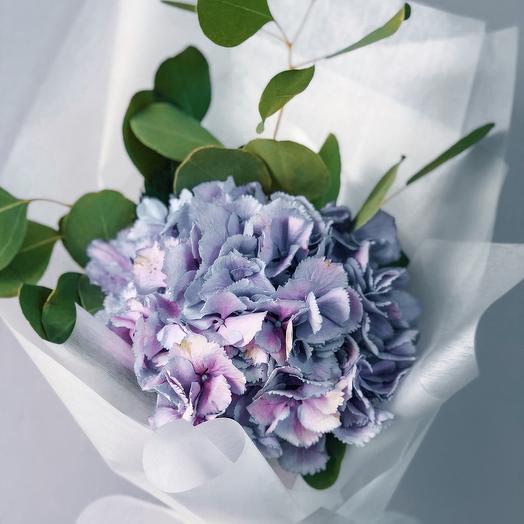 Гортензия Соло: букеты цветов на заказ Flowwow