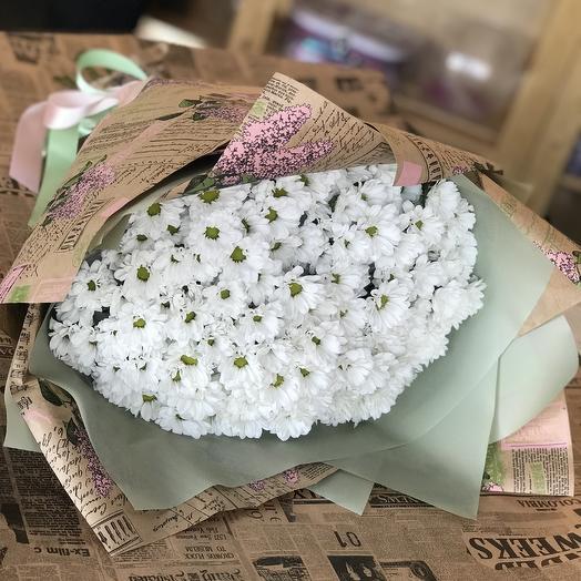Ромашковый комплимент: букеты цветов на заказ Flowwow