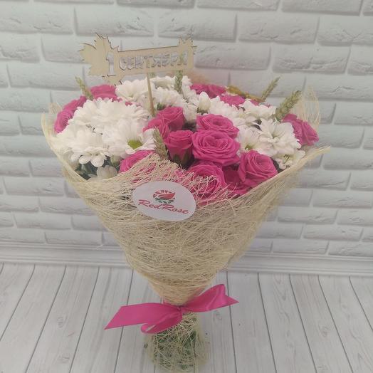 Здравствуй, школа: букеты цветов на заказ Flowwow