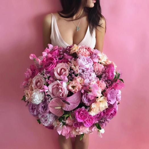Ее Любовь💗: букеты цветов на заказ Flowwow