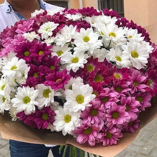 Хризантемы в саду: букеты цветов на заказ Flowwow