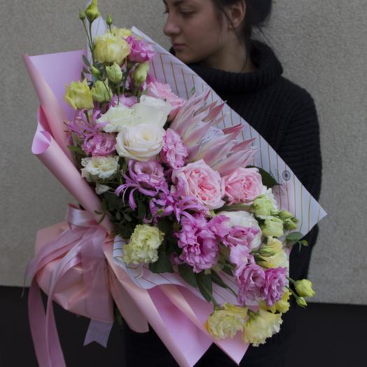 Принцесса Hitomi: букеты цветов на заказ Flowwow
