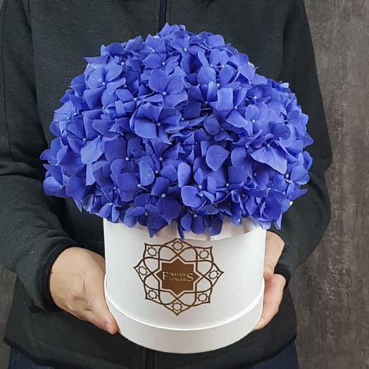 Сапфировое утро + подарочная сумка: букеты цветов на заказ Flowwow