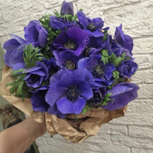 Необыкновенные анемоны для любимой: букеты цветов на заказ Flowwow
