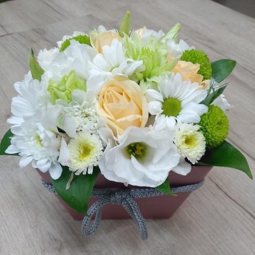 Цветочная компрщиция: букеты цветов на заказ Flowwow
