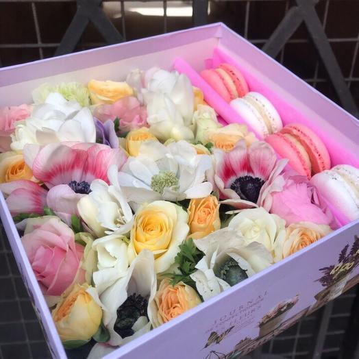 Нежный презент: букеты цветов на заказ Flowwow