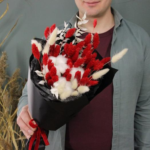 Red and white: букеты цветов на заказ Flowwow