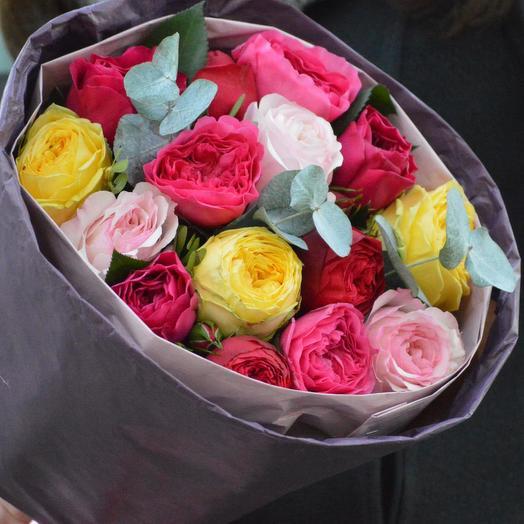 """Букет цветов """"Разноцветная игра"""": букеты цветов на заказ Flowwow"""