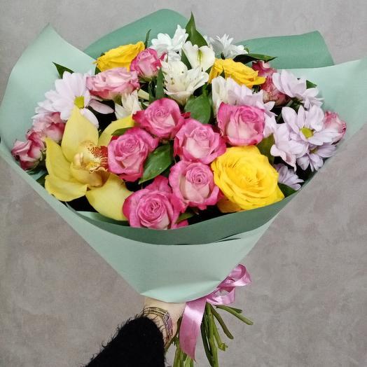 Свежий бриз: букеты цветов на заказ Flowwow