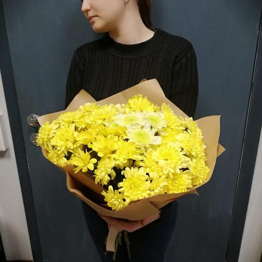 Яркий солнечный букет: букеты цветов на заказ Flowwow