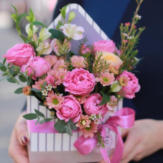 Письмо о любви: букеты цветов на заказ Flowwow