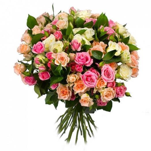 Нежная палитра: букеты цветов на заказ Flowwow