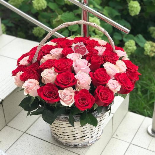 Корзина роз new💥