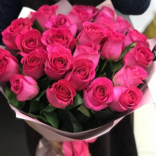 Букет из ароматных роз