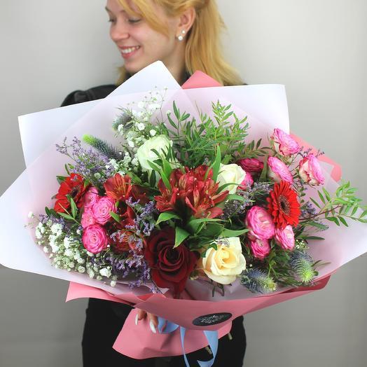 Пудровое настроение: букеты цветов на заказ Flowwow