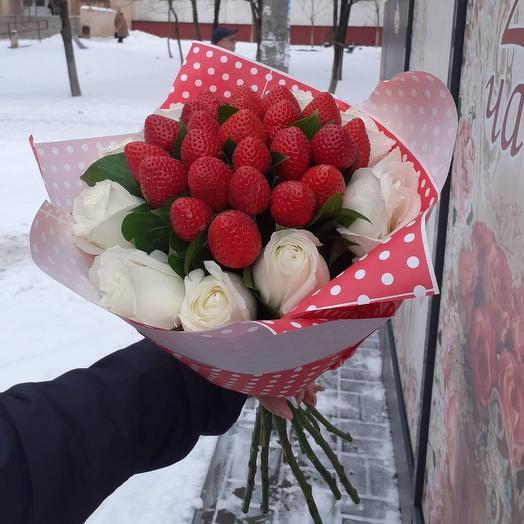Клубника со сливками )